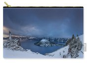 Enveloping Storm At Crater Lake Carry-all Pouch