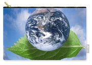 Environmental Issues Carry-all Pouch by Victor de Schwanberg  and Photo Researchers