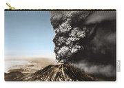 Eruption Of Mount St. Helens Carry-all Pouch