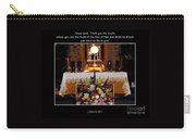 Eucharist Unless You Eat The Flesh Carry-all Pouch by Rose Santuci-Sofranko