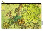 Europe Map Of 1911 Carry-all Pouch
