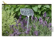 European Markets - Lavender Carry-all Pouch
