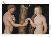 Eve Offering The Apple To Adam In The Garden Of Eden Carry-all Pouch