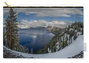 Evening At Crater Lake Panorama Carry-all Pouch