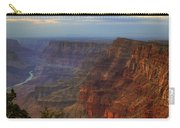 Evening At Desert View Carry-all Pouch