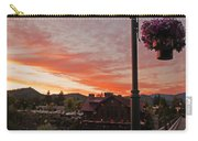 Evening Color Over Taprock Carry-all Pouch