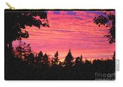 Evening In Paradise Painterly Style Carry-all Pouch