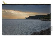 Evening Light Over Miramare Castle Carry-all Pouch