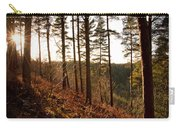 Evening Sun Rays Carry-all Pouch