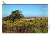 Exmoor's Heather-covered Hills Carry-all Pouch