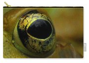Eye Of Frog Carry-all Pouch