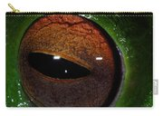 Eye Of The Frog Carry-all Pouch