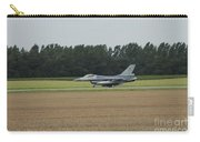 F-16 Of The Belgian Air Force Ready Carry-all Pouch by Luc De Jaeger