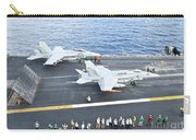 Fa-18 Aircraft Prepare To Take Carry-all Pouch