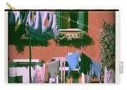 Facades Of Burano. Venice Carry-all Pouch