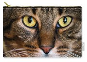 Face Framed Feline Carry-all Pouch