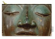 Face Of Bronze Buddha  Carry-all Pouch