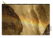 Faces In The Falls Carry-all Pouch