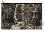 Faces Of Banyon Angkor Wat Cambodia Carry-all Pouch
