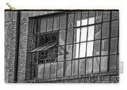 Factory Air In New Orleans In Black And White Carry-all Pouch