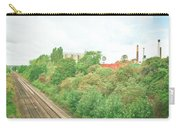 Factory And Trainlines Carry-all Pouch by Tom Gowanlock
