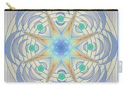 Fading Geometrics Carry-all Pouch