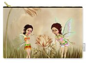 Fairies In The Garden Carry-all Pouch