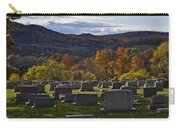 Fairview Cemetery In Autumn Carry-all Pouch