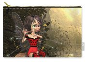 Forest Fairy Playing The Flute Carry-all Pouch