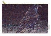 Faithful Raven Carry-all Pouch