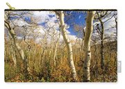 Fall Aspens Carry-all Pouch
