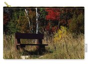 Fall Bench Dreams Carry-all Pouch