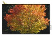 Fall Colored Tree Carry-all Pouch