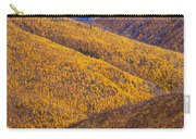 Fall Colours Along Top Of The World Carry-all Pouch