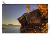 Fall Colours In The Squaw Bay Fallen Rock Carry-all Pouch