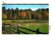Fall Field - Greeting Card Carry-all Pouch