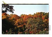 Fall Foliage And Roses Carry-all Pouch