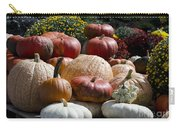 Fall Harvest Colorful Gourds 7965 Carry-all Pouch