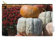 Fall Harvest Colorful Gourds 7968 Carry-all Pouch