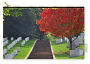 Fall In Arlington Cemetery  Carry-all Pouch