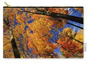 Fall Maple Treetops Carry-all Pouch by Elena Elisseeva