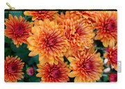 Fall Mums Carry-all Pouch