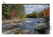 Fall On Swift River Carry-all Pouch