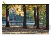 Fall Park Bench 1 Carry-all Pouch