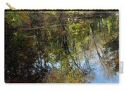Fall Sand Bar Reflections Carry-all Pouch