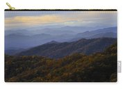 Fall Sunset On The Blue Ridge Carry-all Pouch