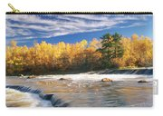 Fall Trees, Rainbow Falls, Whiteshell Carry-all Pouch