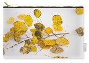Fallen Autumn Aspen Leaves Carry-all Pouch