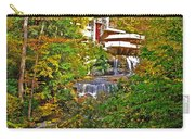 Falling Waters House Setting Carry-all Pouch