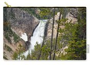 Falls In The Grand Canyon Of Yellowstone Carry-all Pouch